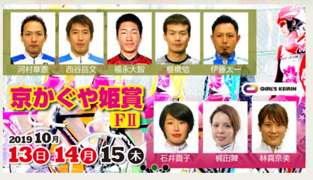 京かぐや姫賞(FⅡ) 競輪レース無料予想